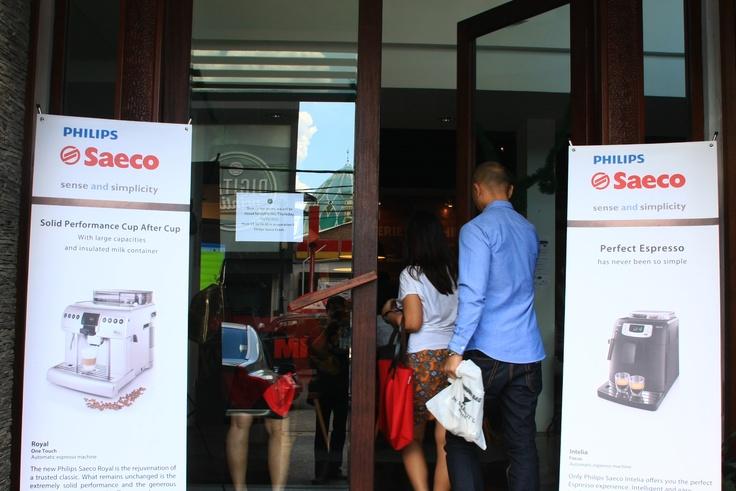 Launching Philips Saeco 2012