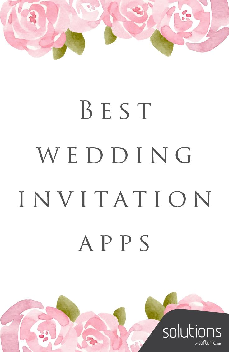 What Are The Best Wedding Invitation Apps In 2019 Fun