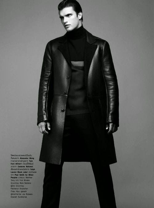 Matthew Terry para Harper's Bazaar Men Tailanda Fall/Winter 2014