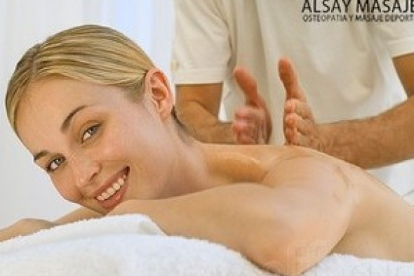 ¿Necesitas un masaje? ¿Tienes contracturas o tensión muscular? Disfruta de una sesión de masaje en Alsay Masajes que ofrece en exclusiva a los usuarios de Merkagune un precio especial en un masaje personalizado a elegir entre masaje deportivo, descontracturante o podológico ¡No lo dudes más! Disfruta de una sesión de masaje de 1 hora en Alsay masajes.. + info: http://www.merkopolis.com/merkobonos.php?idmkb=234