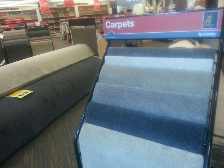 Le cornu do carpets as well