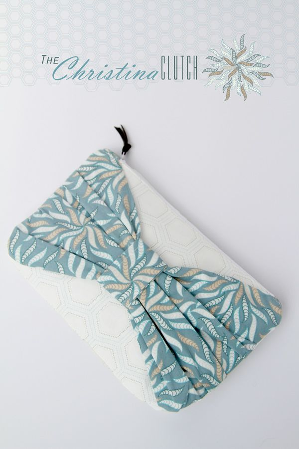 The Christina Clutch Tutorial - Art Gallery Fabrics-The Creative Blog