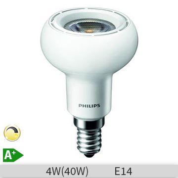 Bec LED reflector Philips COREPro Ledspotmv R50 D 4-40W, E14, 36D, 20000 ore, lumina calda