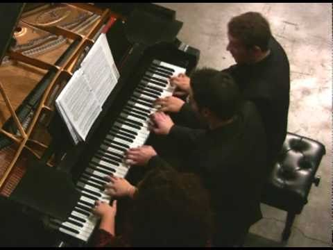 """Antonio Rossini """"The Barber of Seville"""" Fantasie for Piano 6 hands at Classical Underground.mp4"""