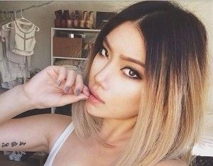 asian ombre hair