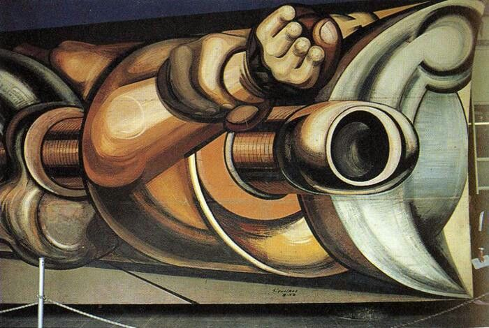 David alfaro siqueiros influences pinterest david for El mural de siqueiros en argentina
