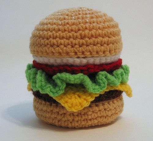 Crochet Foods | WHATTHECOOL