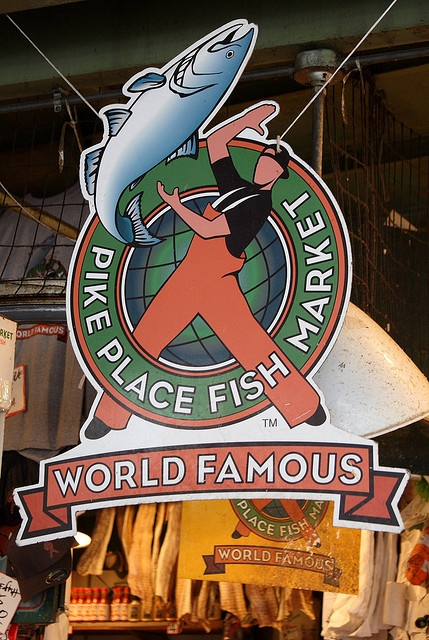 Home of the flying fish in the Pike Place Market