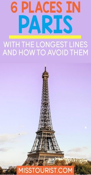 6 places in paris with the longest queues and how to avoid them rh pinterest com what to see in paris in a weekend what to see in paris on a budget