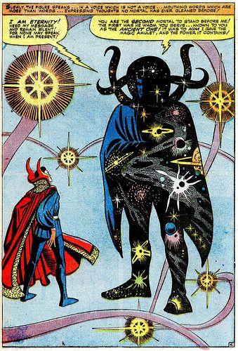 strange tales 138 doctor strange meets eternity by steve ditko
