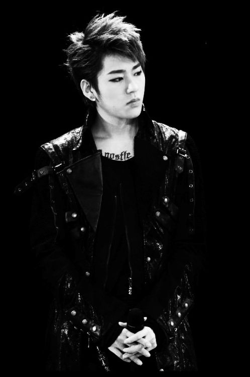 Zico of Block B. In this pic he reminds me of Kid Monster from Hotshot.