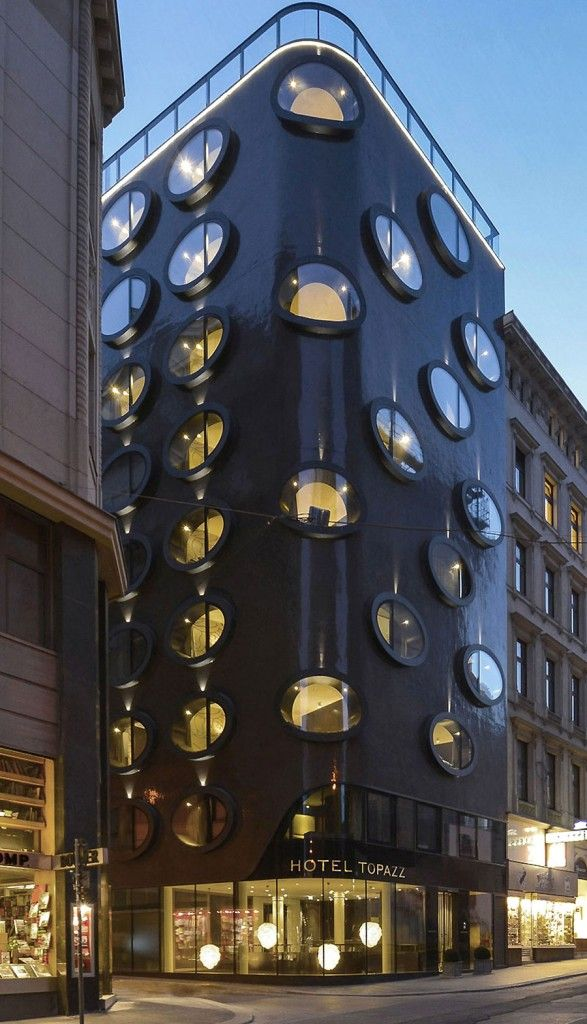 ღღ Hotel Topazz in Vienna, Austria by BWM Architekten und Partner