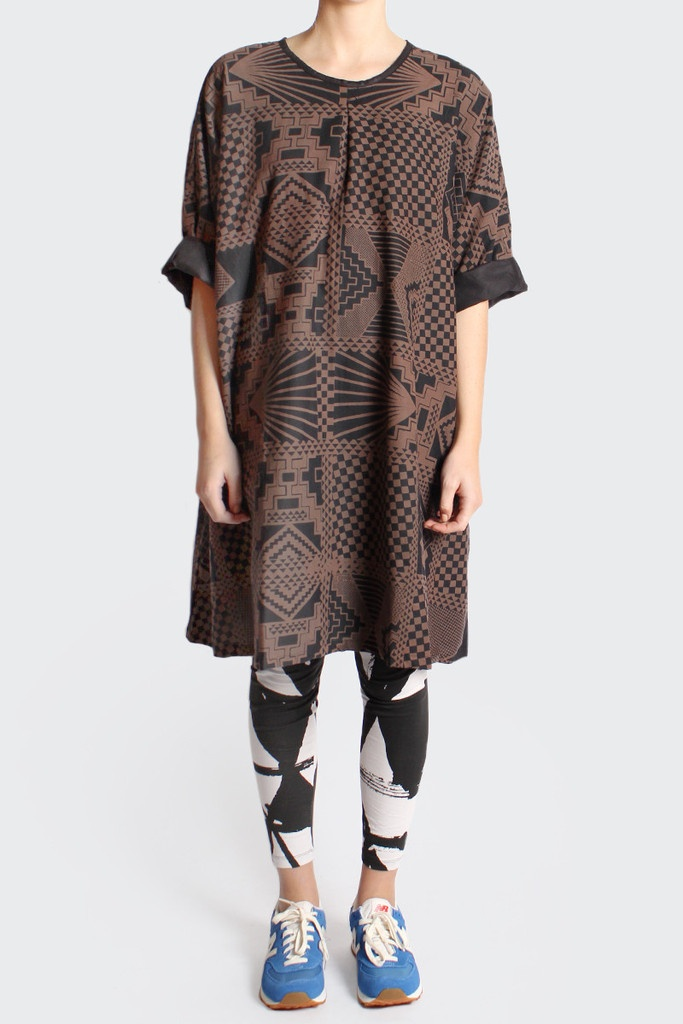 GOOD AS GOLD — PERKS AND MINI Reversible Dress, black/bronze  http://www.goodasgold.co.nz/collections/perks-and-mini