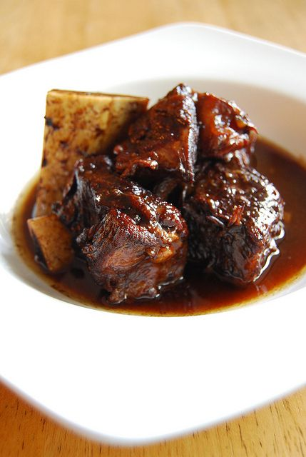 Red wine and short ribs adobo filipino food from the for Adobo filipino cuisine