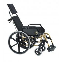 Silla de ruedas plegable con respaldo reclinale Breezy 250 SUNRISE MEDICAL. #antiescaras. #Silladeruedas #movilidad #accesibilidad #escaras #terceraedad #mayores #discapacidad #ortopedia #ortopediaplus #Wheelchair #aluminio #aluminium #orthopedia #orthopedic