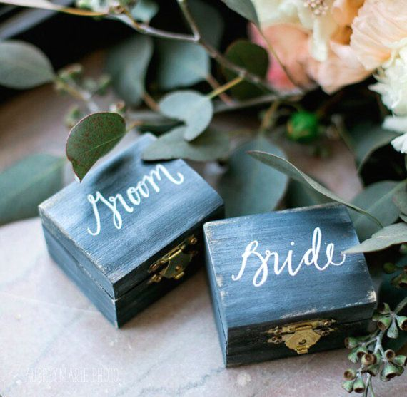 NINA weddings | De 12 leukste ringendoosje op Etsy - NINA weddings