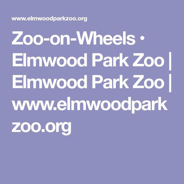 Zoo-on-Wheels • Elmwood Park Zoo | Elmwood Park Zoo | www.elmwoodparkzoo.org