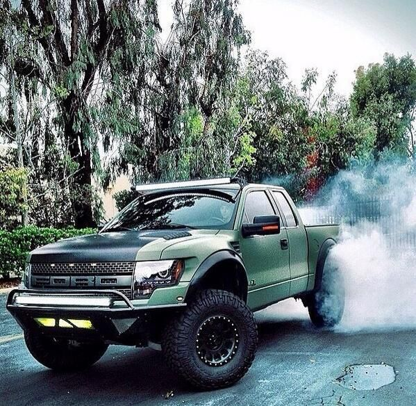 Badass Ford Raptor
