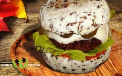 Diétás hamburger