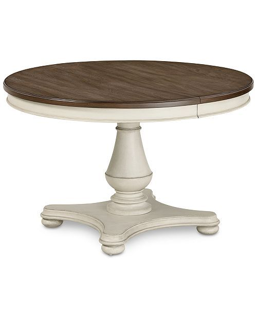 barclay expandable round dining pedestal table in 2019 house rh pinterest com