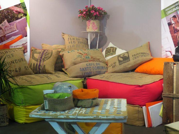 diy sac en toile de jute  | Mille et une idées de recyclage de sac à café en toile de jute !