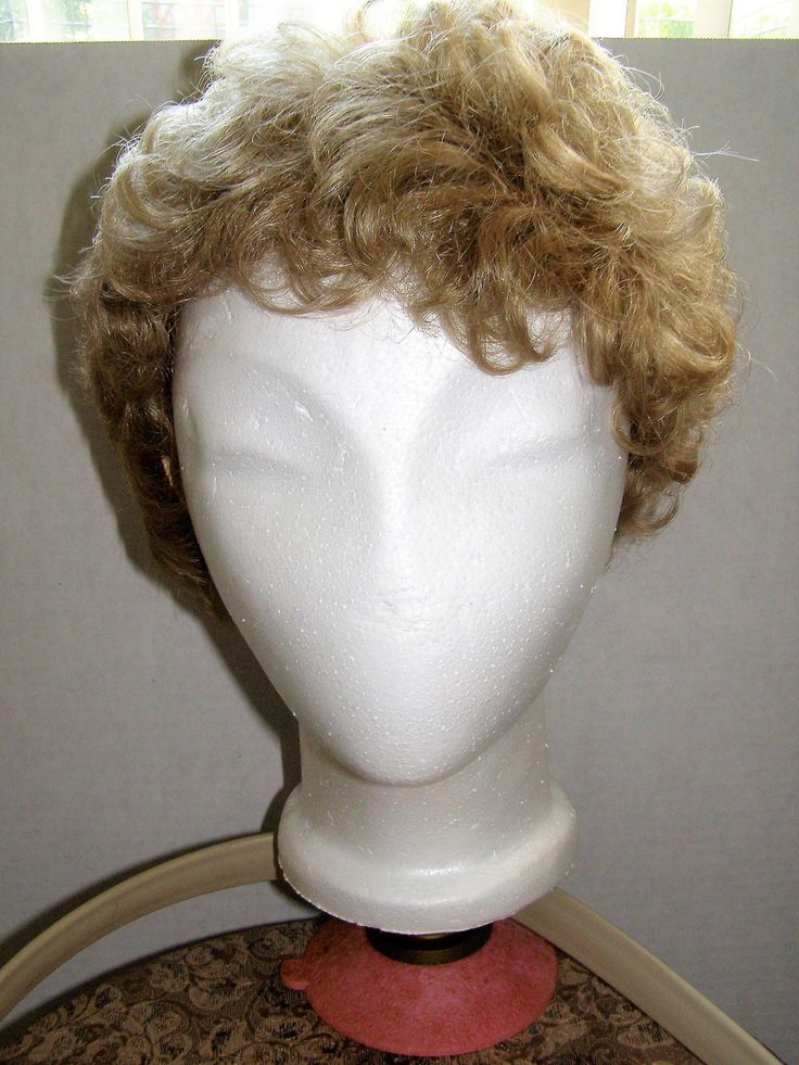 Eva Gabor Wig Designed by Josef of Rome; Norman Kartiganer Inc Stand; Cameo Stroyfoam Head; Everbest Hollywood FL. LARGE Wig/Hat Box by Something2SingAbout on Etsy