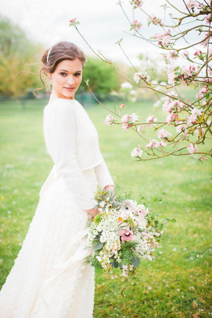 Fine Art Styled Shoot. Planned, Styled and Directed by Natalie Hewitt Wedding & Event Planner. Photographed by Gina Dover-Jaques. Featuring Jesus Peiro cardigan and Charlie Brear skirt