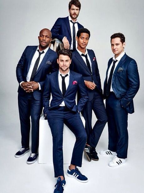 Billy Brown, Jack Falahee, Charlie Weber, Alfred Enoch, and Matt McGorry
