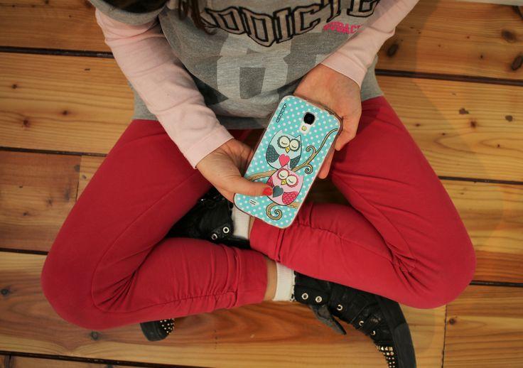 Owls in love <3 #guscio #gusciostore #dilloconunguscio #madeinitaly #IT  #cover #covercase #lifestyle #owls #pois
