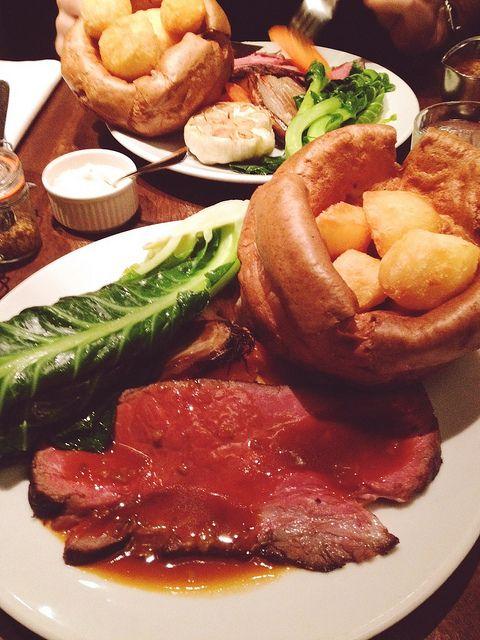 Sunday Roast At The Hawksmoor