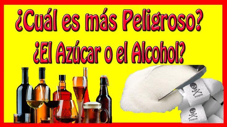 ¿Cuál es más Peligroso?  ¿El Azúcar o el Alcohol?