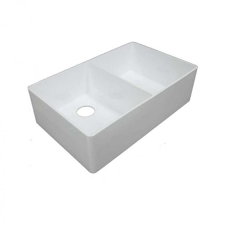 Composite Double Butler Sink Package (Incl 90mm Wastes) - Sinks & Basins - Kitchen