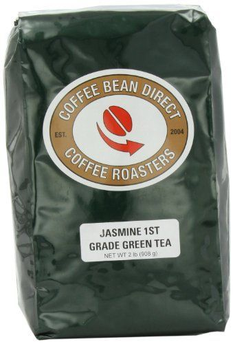 Coffee Bean Direct Jasmine Tea, 1St Grade, loose-tea-format, 2 Pound Bag *** See this great product.