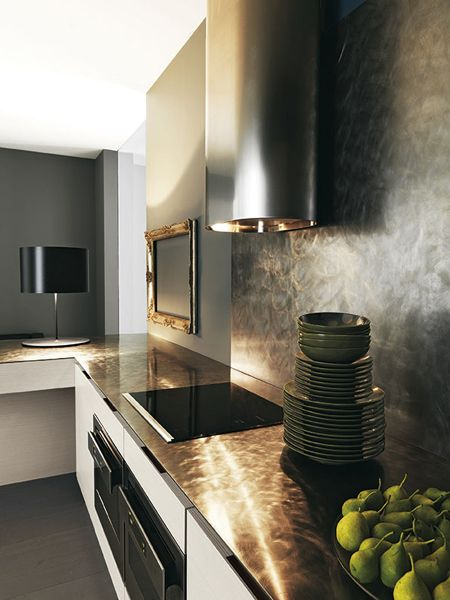 Cocina integral YARA by CESAR ARREDAMENTI | diseño Gian Vittorio Plazzogna