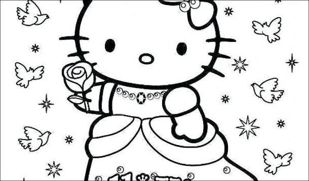 Hello Kitty Princess Coloring Page A Danquahinstitute Org Princess Coloring Pages Princess Kitty Hello Kitty