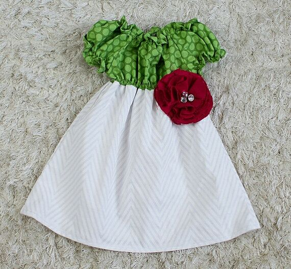 party dress / pretty girl / Christmas dress by RawCottoncollection