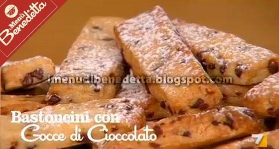 Bastoncini con Gocce di Cioccolato | la ricetta di I Menu di Benedetta