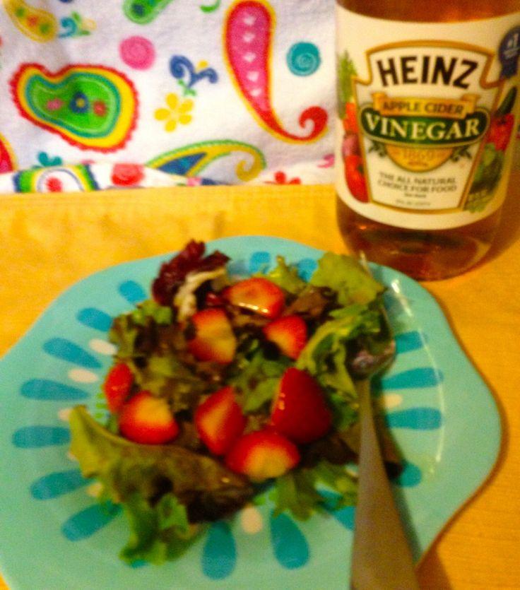 Heinz Apple Cider Vinegar Berry Vinaigrette Recipe @Heinz Vinegar #HeinzVinegar #sponsored