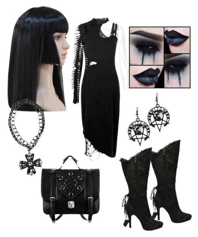 """Gothic"" by reinaaglaia on Polyvore featuring Ellie"