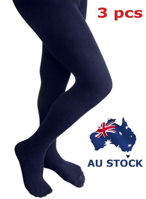 fb7e19b0a Pantyhose Tights Opaque 120D Stockings Hosiery Women Navy Blue Black x 3  pcs Stockings Opaque Pantyhose