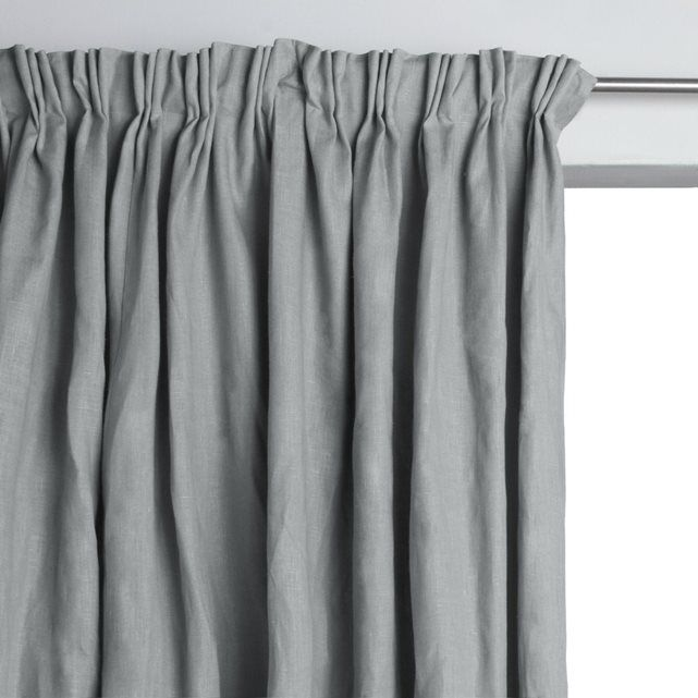 Image LINCOLN Lined Linen Curtain, Pinch Pleats AM.PM.