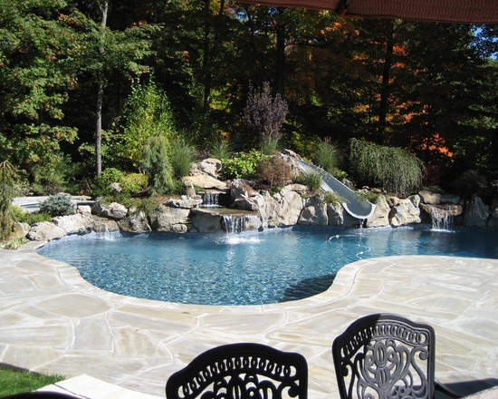 eclectic pool design pictures remodel decor and ideas page 2 - Gunite Pool Design Ideas
