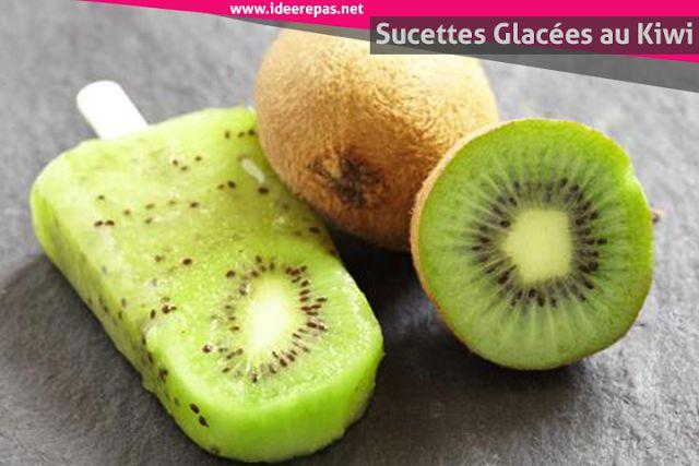 ... Sucettes Glacées Aux Fruits, Recettes De Glace À Leau et Sucettes