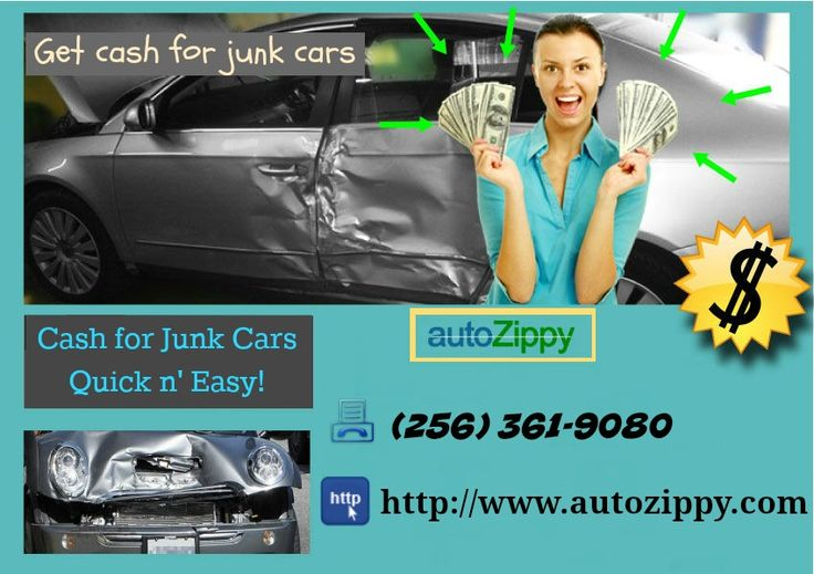Sell Your Junk Cars For Cash
