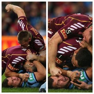 Violencia. Rugby best lol