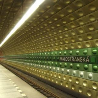 Malostranska Station, Prague Metro