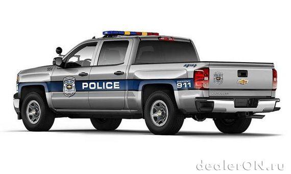 Полицейский пикап Chevrolet Silverado 1500 Crew Cab Special Service Vehicle / Шевроле Сильверадо 1500 Специальная Служба