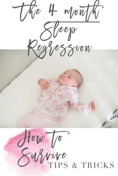 The dreaded 4 month sleep regression, tips & tricks for making it through! Glad to see that we aren't the only ones whose baby has morphed into a sleepless mess.