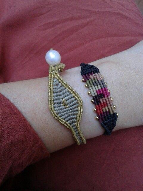 Selini and Iris Petit bracelets at peacecloset.com