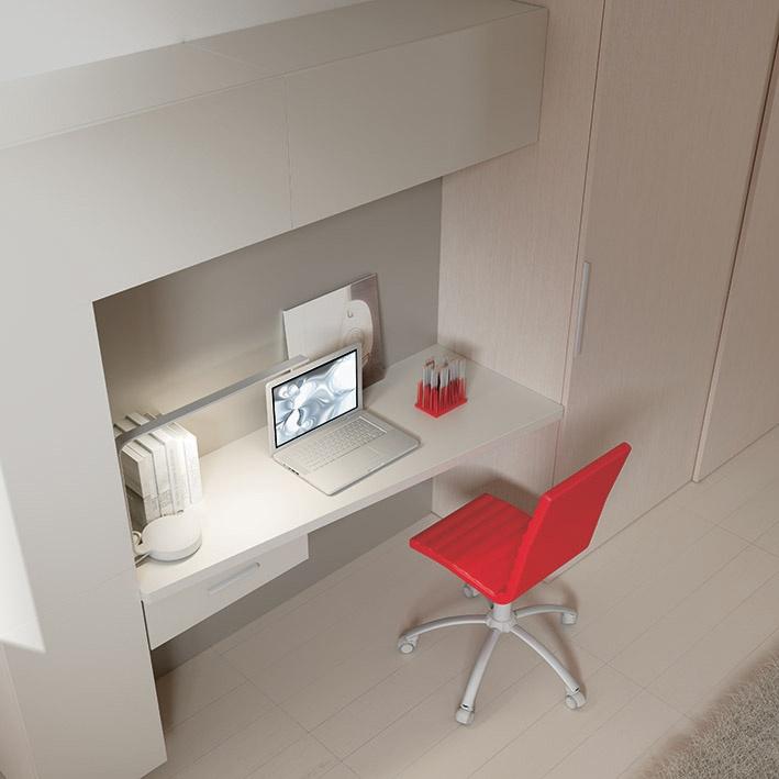 """#Arredamento #Cameretta Moretti Compact: Collezione 2012 """"Team"""" > Kids >> kc23 #scrivania http://www.moretticompact.it/kids.htm"""
